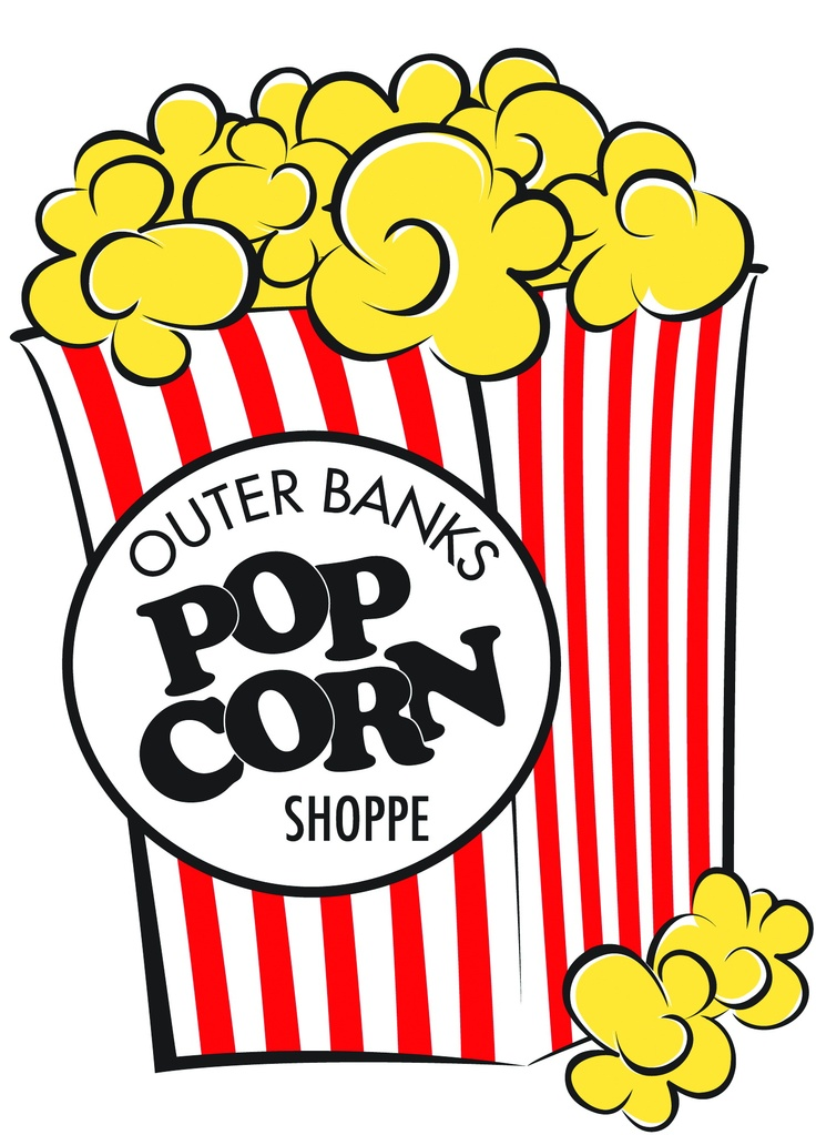 Amazing little popcorn shop in the Outer Banks. Corolla, North Carolina. OBX. Duck, North Carolina.