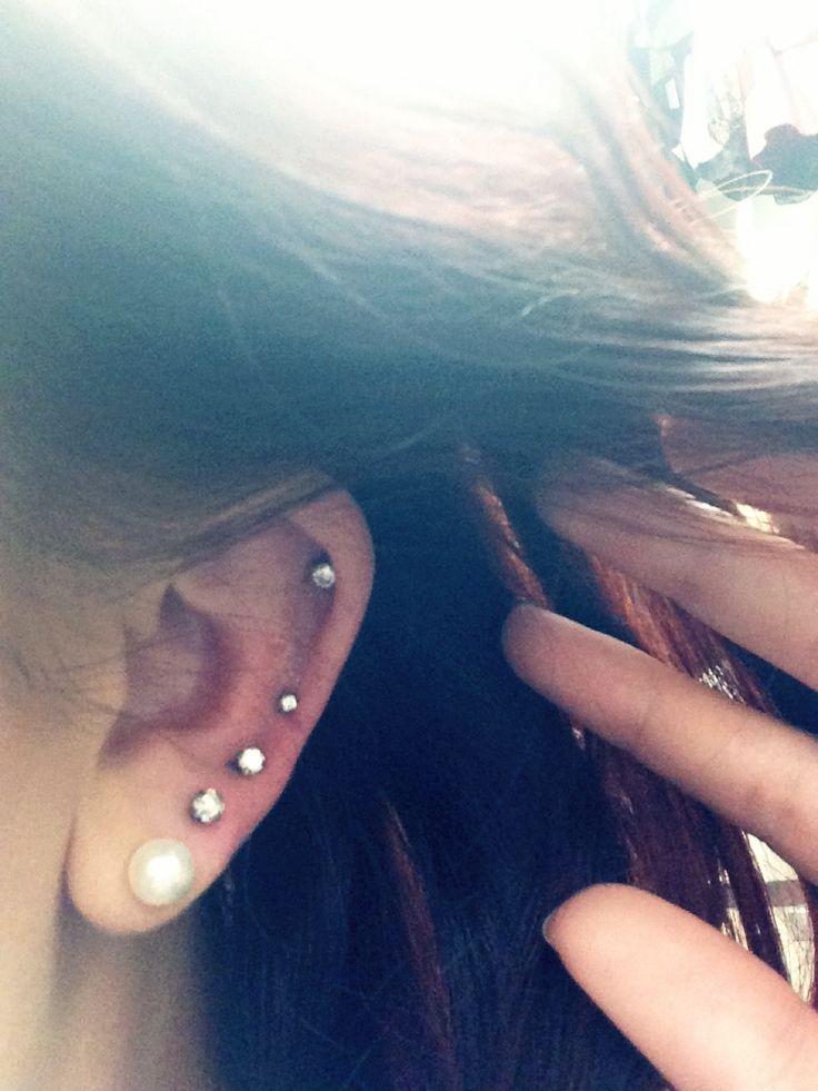 #ear #piercings #love | Cute Ear Piercing Pictures/Videos ...