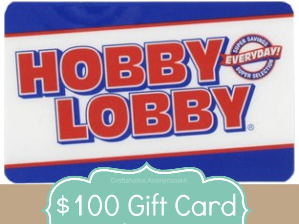 Best 25 hobby lobby gift card ideas on pinterest personalized 100 hobby lobby gift card negle Choice Image