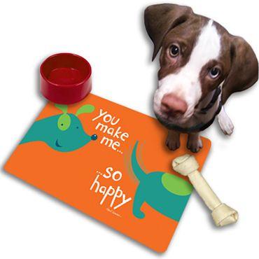 Dog Mat by Holli Conger @ https://www.colorful-garden.com