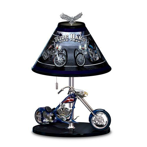 17 Best Images About HARLEY LAMPS On Pinterest