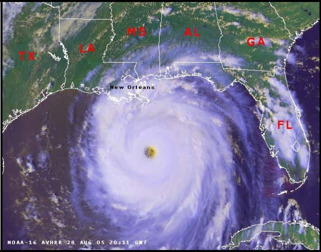 16 maps and charts that show Hurricane Katrina's deadly impact