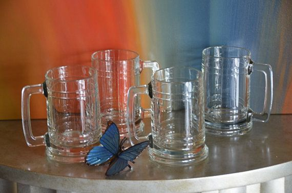 Vintage Set of Midcentury Beer Steins / by DesignsInVintage, $24.00