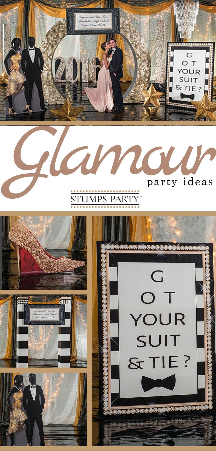 Turn your celebration into a sophisticated black tie affair with supplies from our Sequins and Bow Ties Kit.