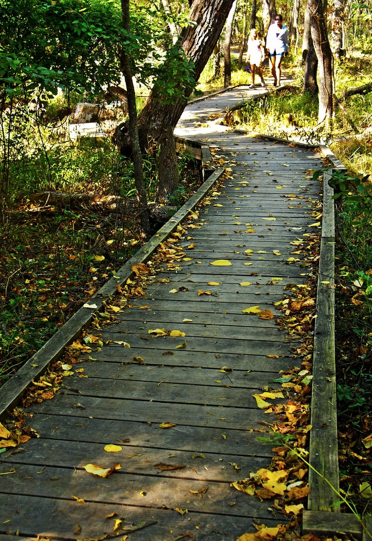 Oxley Nature Center in Tulsa, this is a neat place to go walking!
