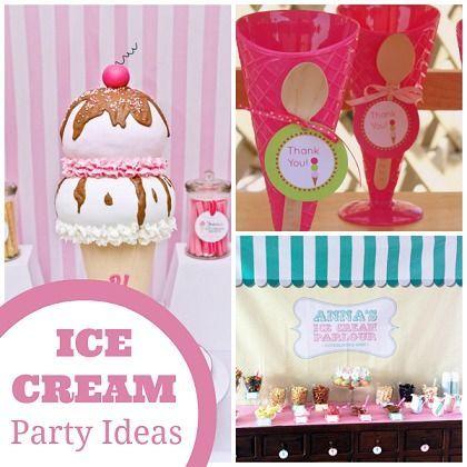 Throw an Ice Cream Party