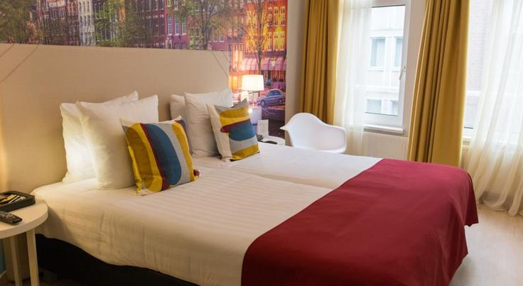 France Hotel Amsterdam France Hotel is located on a canal street and only 400 meters from Amsterdam Central Station. The hotel has an adjoining restaurant and Irish pub. Free WiFi is available throughout the non-smoking property.