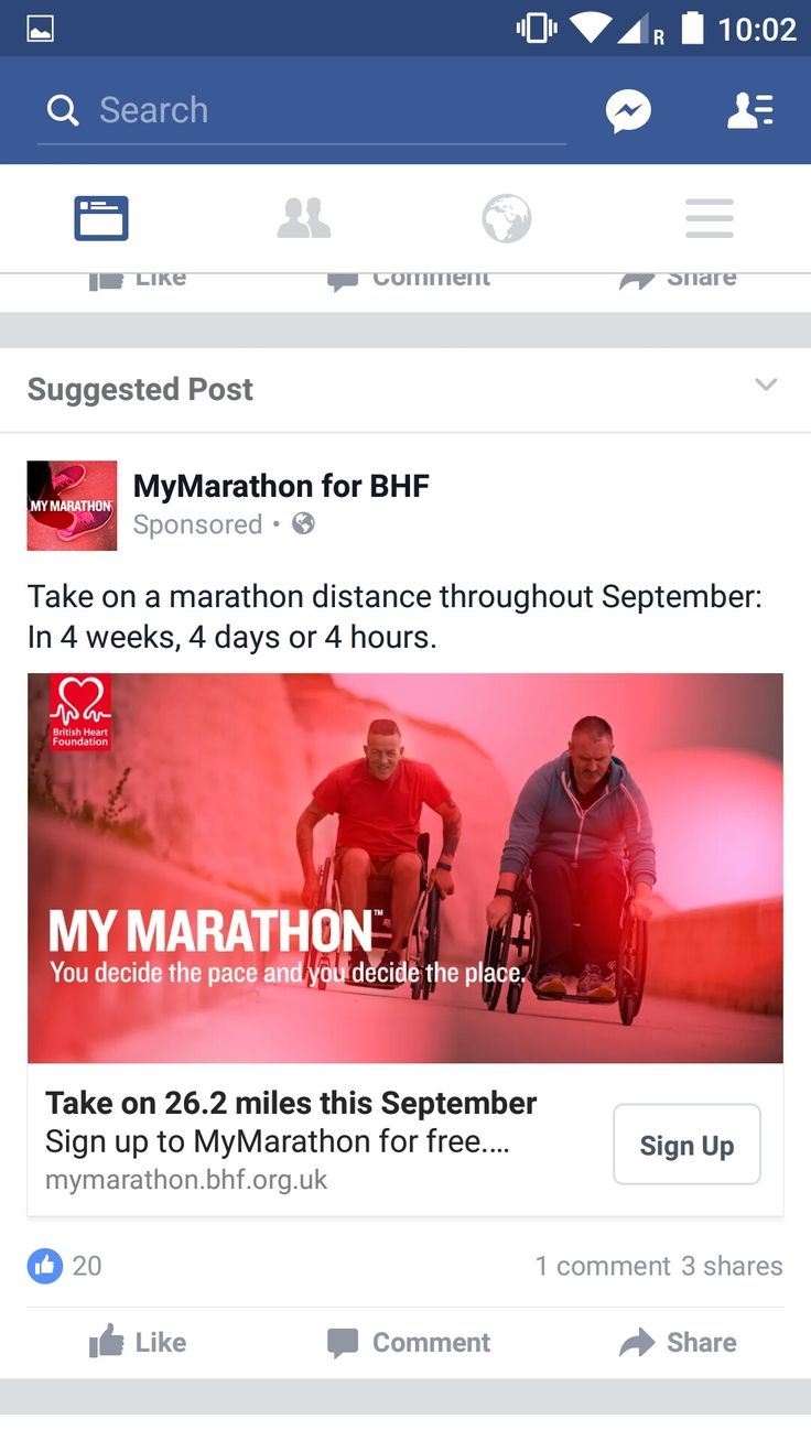 Facebook -  I have sponsored friends through Facebook who have run for charity