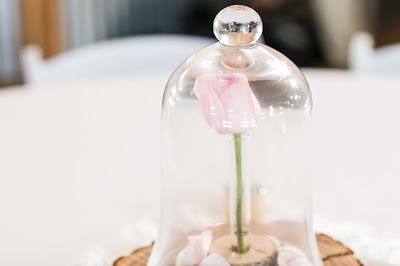 Beauty and the Beast inspired wedding decor. Vintage chic wedding