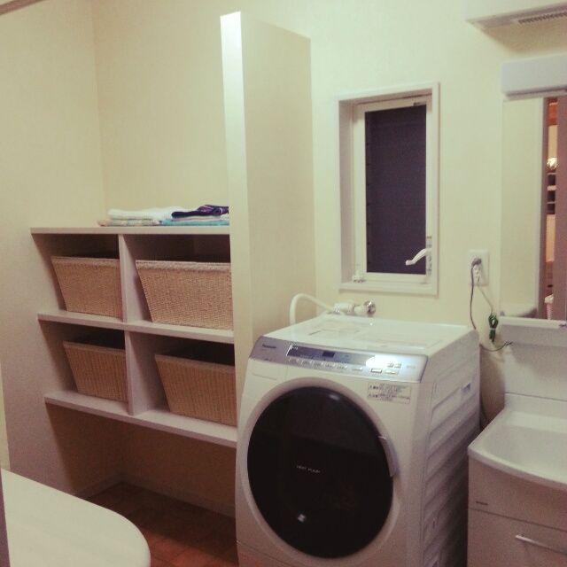 脱衣所/かご収納/バス/トイレのインテリア実例 - 2014-02-22 22:21:27 | RoomClip(ルームクリップ)
