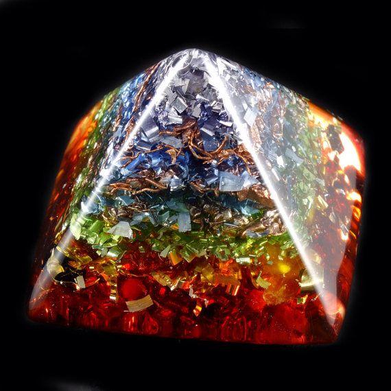 7 Chakras Activation Rainbow Healing Orgone Pendant – Quotes
