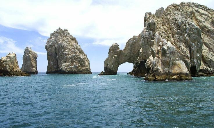 Cabo San Lucas in Mexico is a city in the Southern tip