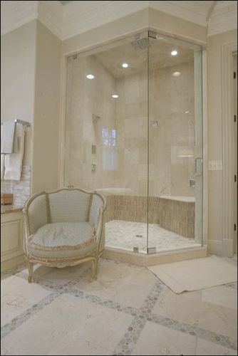 1000 images about bathroom floor on pinterest ideas for for Crema marfil bathroom designs