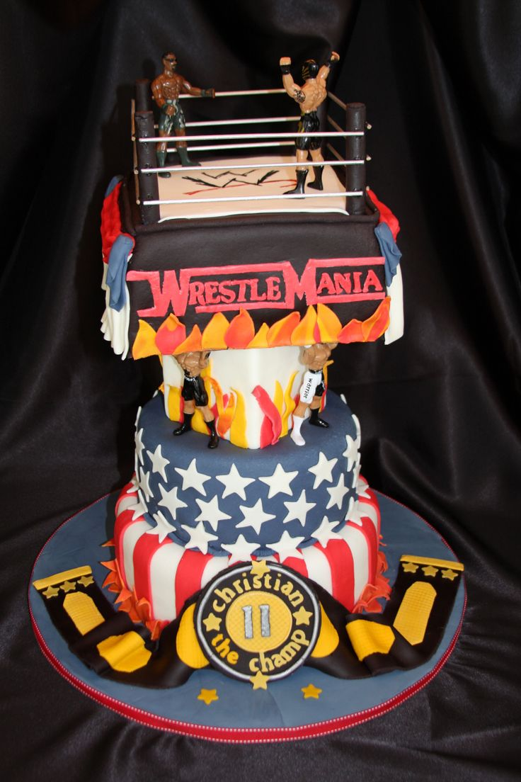 12 best WWE Birthday Party images on Pinterest Wrestling party