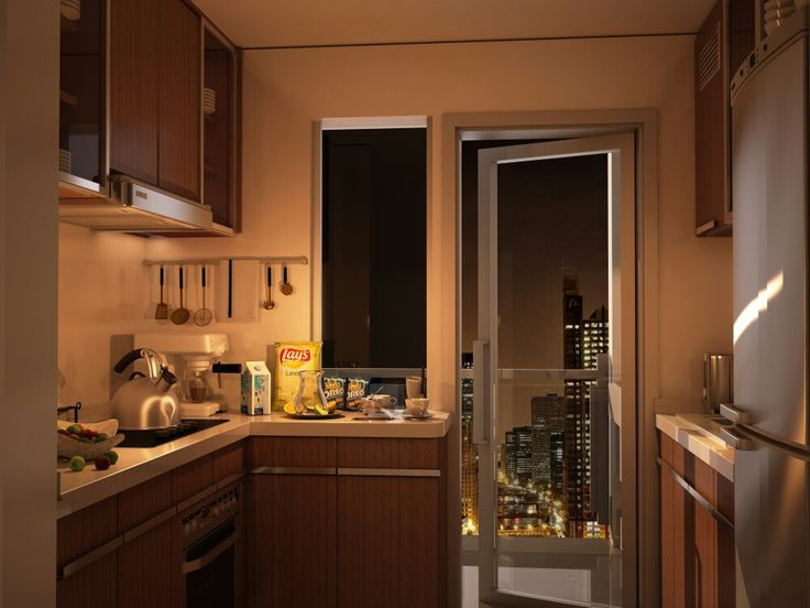 Kitchen 3d visualization 3dsmax 2014 , Vray Adv. 3 & Photoshop 6...