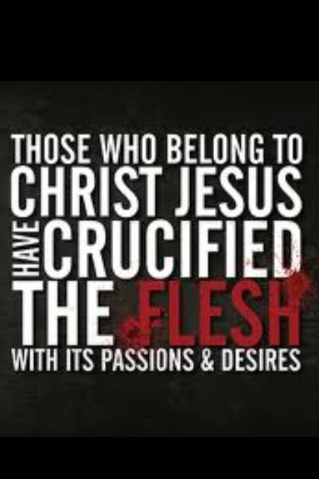 Galatians 5:24 | 1956msbess's Blog