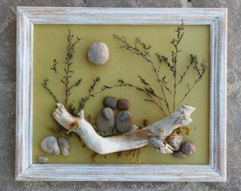 """Pebble Art, Rock Art, coppia di arte ciottolosa, Rock Art coppia, """"aperto"""" 8.5 x11 frame, nozze, luna di miele, fidanzamento, (Spedizione gratuita)"""