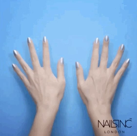 MAGIC. | Spray Paint Nail Polish Exists And Your Life Will Never Be The Same Again