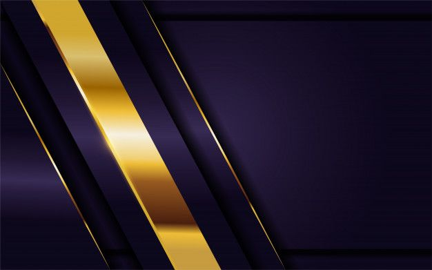 Luxurious Dark Purple Background With Golden Lines Combination In