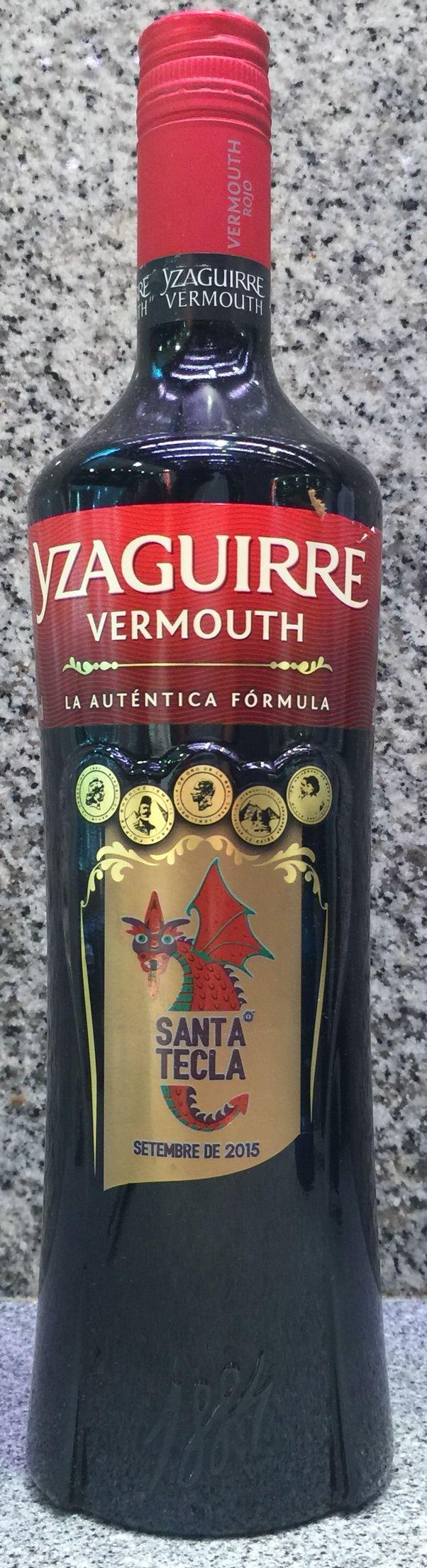 Vermouth a l'effigie de la santa tecla