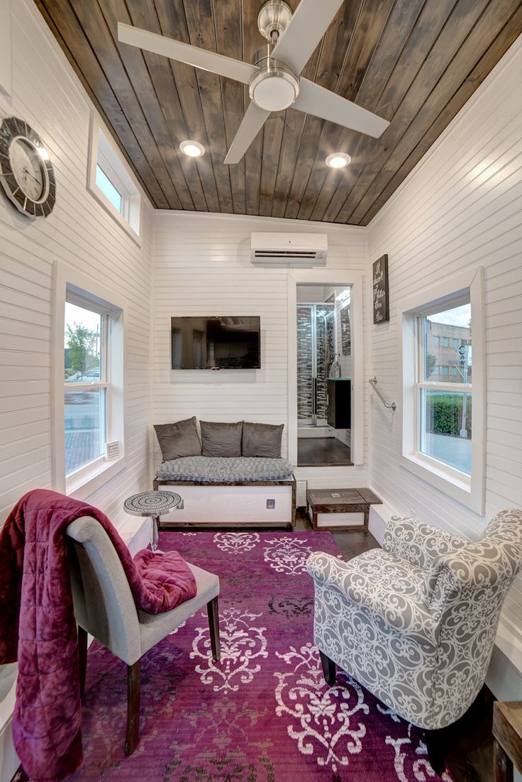 Bedroom tiny home plans on wheels furthermore romeo 500 sq ft log - Freedom Tiny House Swoon