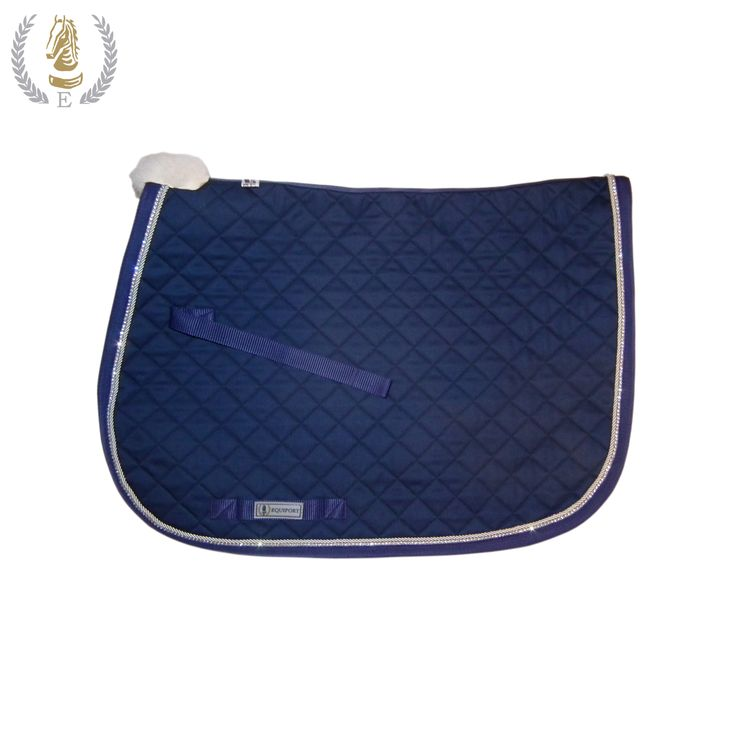 10 Must-Have Products for Show Jumpers - Equiport Diamante Saddle Cloth - https://www.equiport.co.uk/blog/article/10-musthave-products-for-show-jumpers/