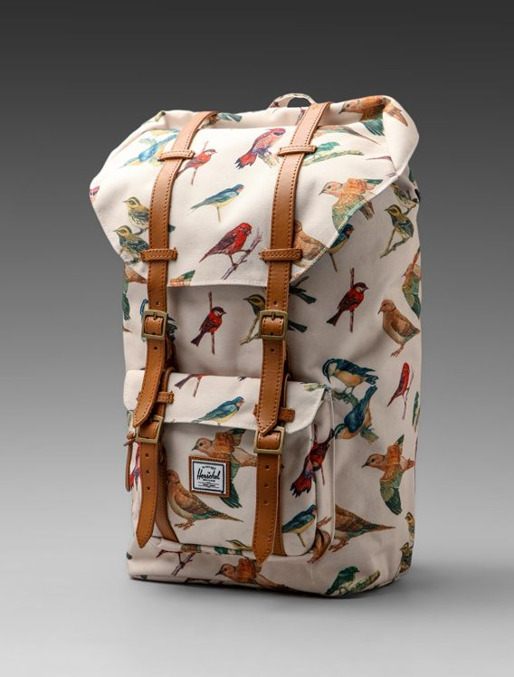 I love Herschel backpacks. This one in particular.