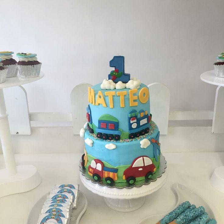 Cars cake Www.facebook.com/cakeandco.byenjy