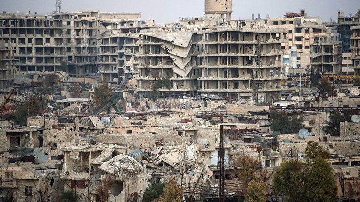 Боевики обстреляли посольство России в Дамаске из минометов | РИА Новости