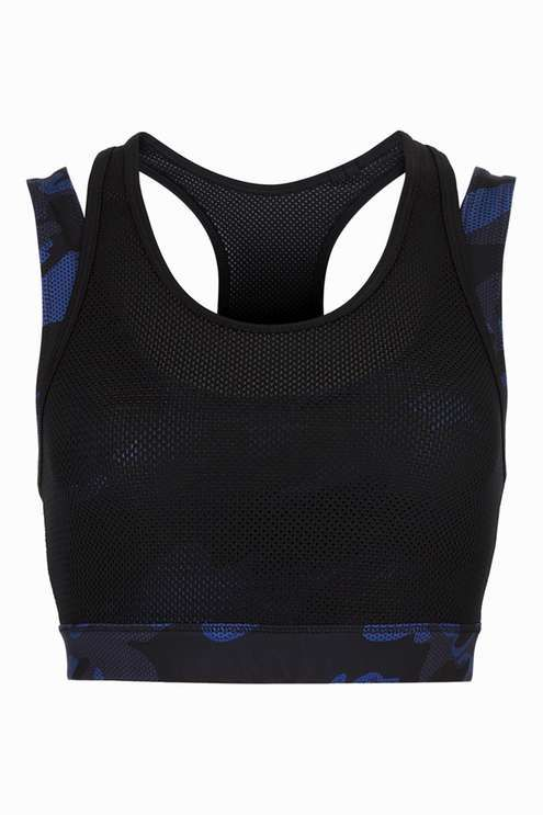 Double Layer Camo Bra by Ivy Park