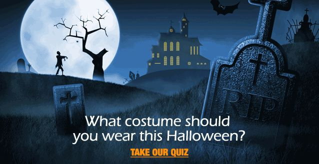 Don't know what you want to be for Halloween this year?  No problem!  Take this quiz from Halloween Express (located a block past our Upper Kirby Office!) for ideas on what to be!