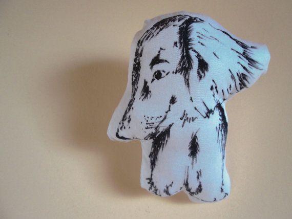Dackel TierKissen von atelier35shop auf Etsy, €30.00