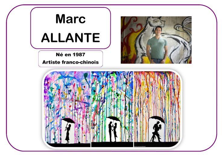 Marc Allante - Portrait d'artiste