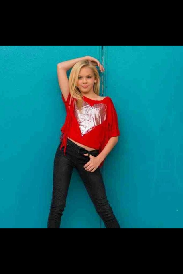 This is Jordyn Jones. She was on AUDC(Abbys Ultimate Dance Competition).
