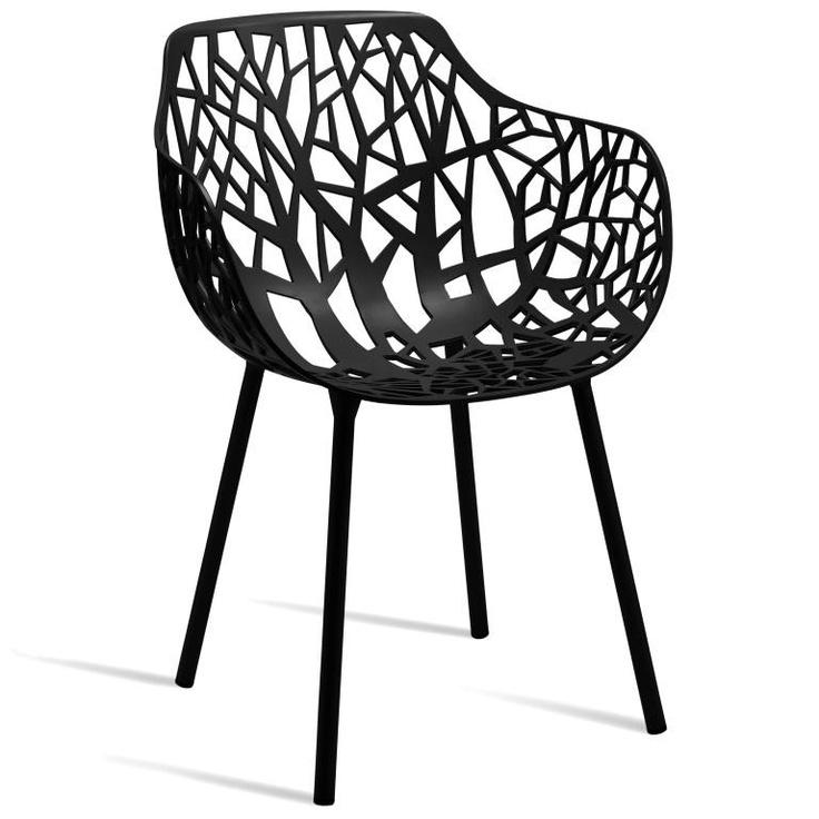 Forest Armchair - Black