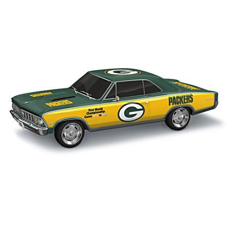 Green Bay Packers Super Bowl I 1966 Chevelle SS Sculpture #Packers #NFL
