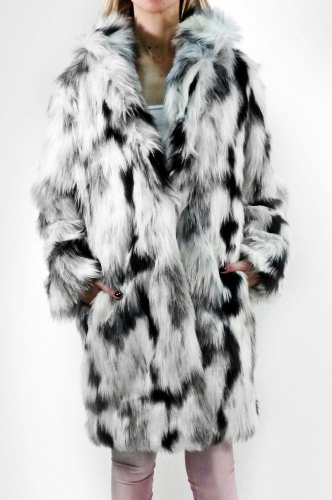White Pantera Leo Faux Fur