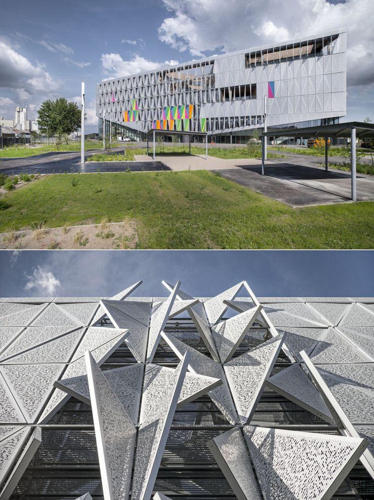 The University of Southern Denmark: Kolding Campus, Kolding, Denmark by Henning Larsen Architects