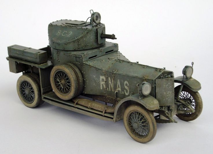 Rolls Royce Armoured Car 1914 | Jarda Barta
