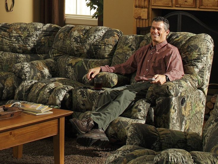 Mossy oak camo living room furniture sets camo living for Camouflage living room ideas