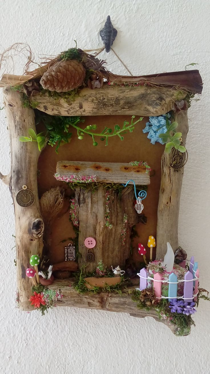 3094 best images about a fairy gardens on pinterest for Miniature fairy garden doors