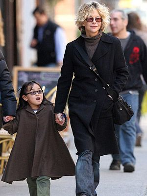 Meg Ryan adopted her daughter Daisy True through international adoption in China in early 2006.