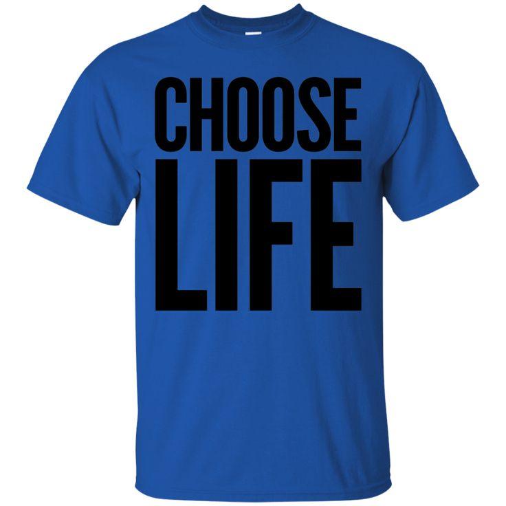 Choose Life Wham Vintage Retro 80s Funny T-Shirt