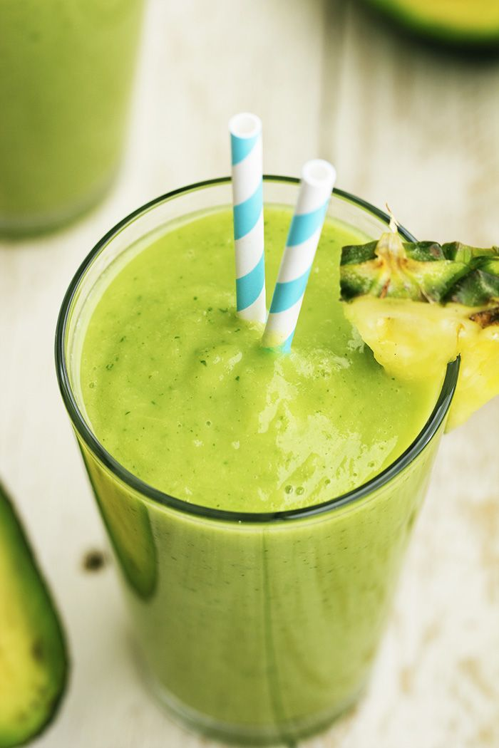 Avocado, pineapple, spinach, kale, coconut and lime come together in this delicious and perfectly smooth smoothie. There are so many delicious things packed into this smoothie you are sure to love!  While I was in North Carolina my friend took me to Tropical Smoothie Cafe and told me that I had to try their …