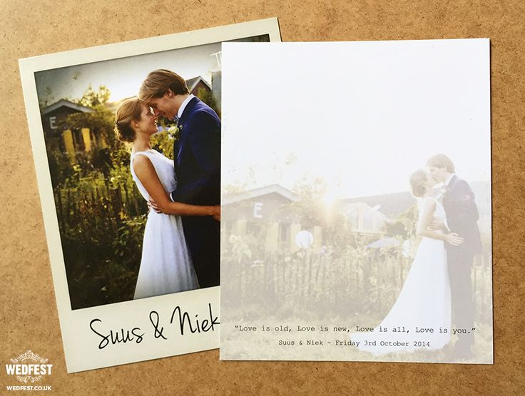 13 best Wedding Pics Thank You Cards images on Pinterest