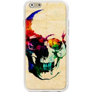 I Live Inside Your Face By Fimbis for                           Apple  iPhone 6 (4.7')  #fimbis #thekase #skull #crâne #blue #style #styleblog #fashion #fashionblogger #fashionblog #styleblogger #iphone6 #designer #iphone6plus #abstract #résumé #squelette #mode #blogdemode #coques #fblogger #coquesiphone #Noël #festive #defête #idéesdenoël #français #christmasgiftideas #jaune #sea #nautique #orange