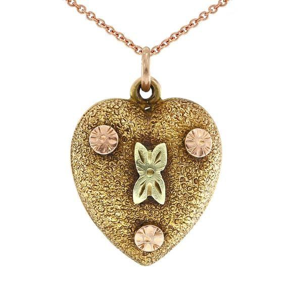 Gerard McCabe Antique Heart Pendant