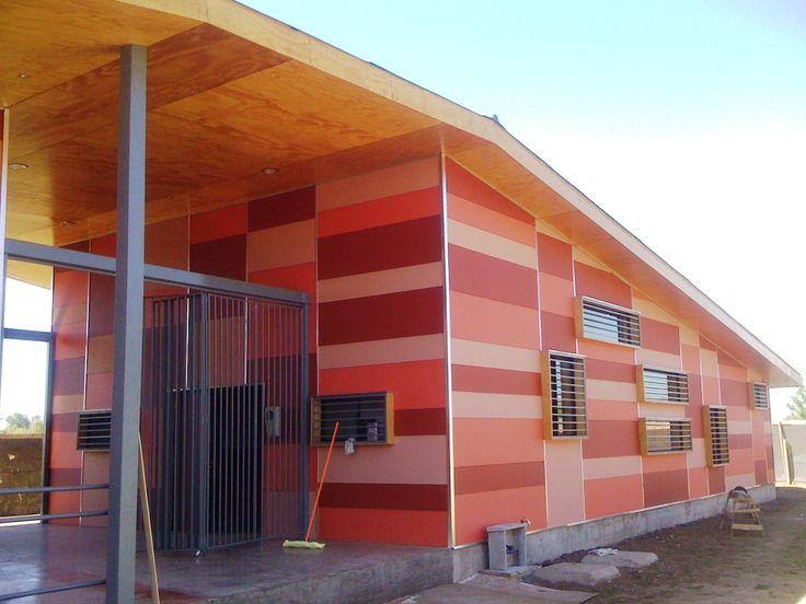 Centro Comunitario Paniahue, Santa Cruz. Región de O´Higgins 2012. Equipo Minvu región de O´Higgins