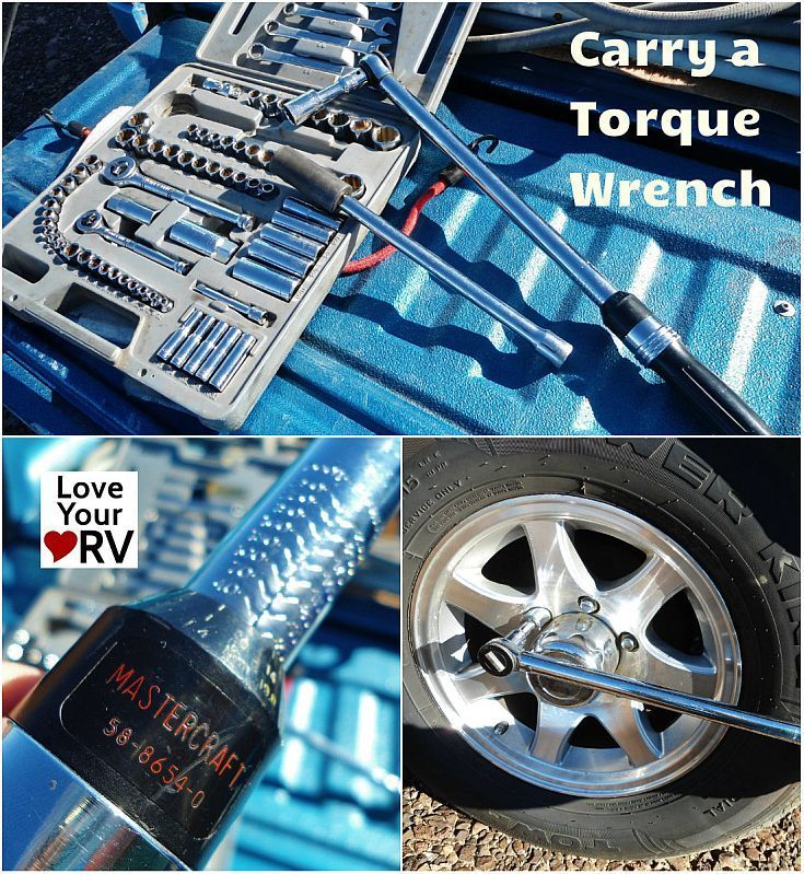 Carry a Torque Wrench for RV Maintenance - Love Your RV! http://www.loveyourrv.com/ #RV #Advice