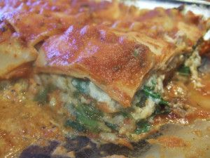 OOH-LA-LA Lasagna....I will take this over regular lasagna any day. SOOO good. Chloe's Cookbook recipe...great cookbook!